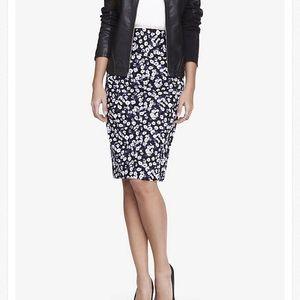 Express high waisted skirt -knee length
